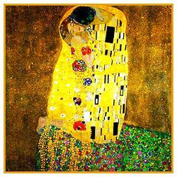 Orenco Originals The Kiss by Gustav Klimt Counted Cross Stit