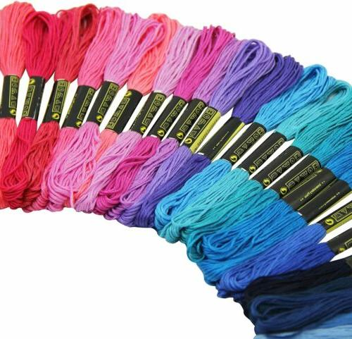 100 Colors Thread Skeins Line