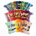 100 Different Colors Cross Stitch Floss Cotton Thread Embroi