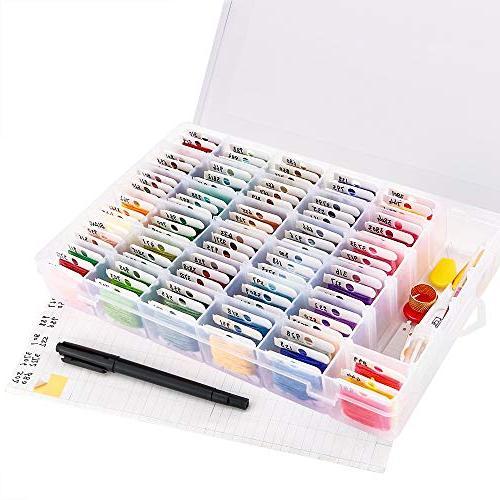 Caydo 100 Embroidery Needle 100 Floss Tool Pen