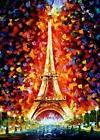 11ct Stamped Cross Stitch kit The Eiffel Tower in Paris Need