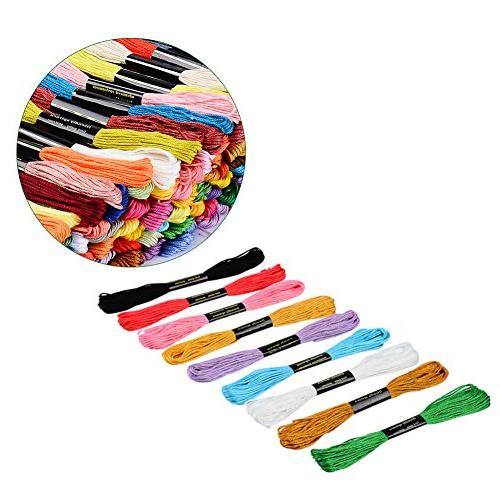 Paxcoo Skeins Embroidery Floss Thread with