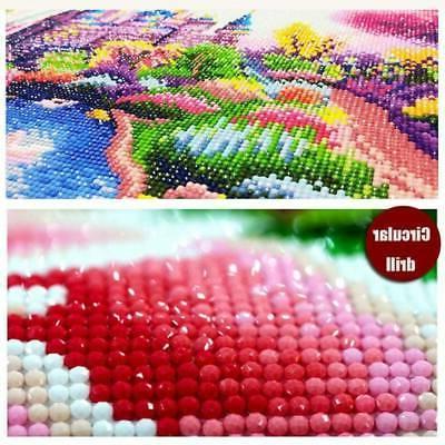 30*30 Diamond Cross Stitch Kit Decor