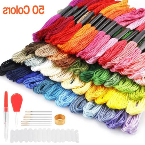 50/100/150 Colors Cross Cotton Embroidery Sewing