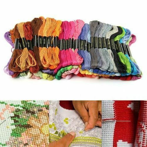 50pcs/set DMC Cross Stitch Cotton Embroidery Thread Floss Se