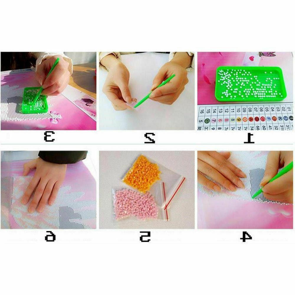 DIY Diamond Painting Kits Tiger Animal Cross Stitch USA