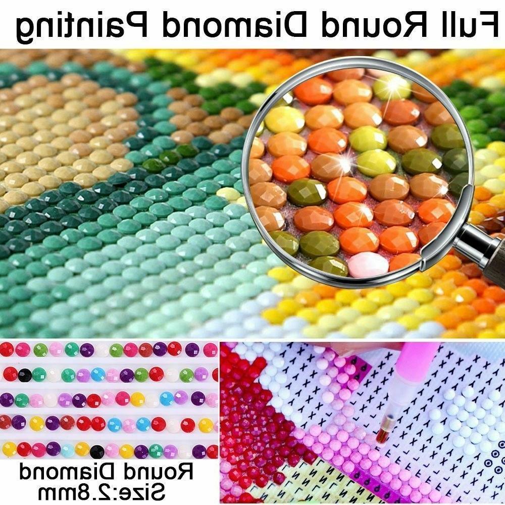 DIY Diamond Kits Animal Embroidery Cross USA
