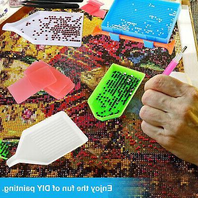 5D DIY Diamond Accessories Cross Stitch Kits Art Box Set