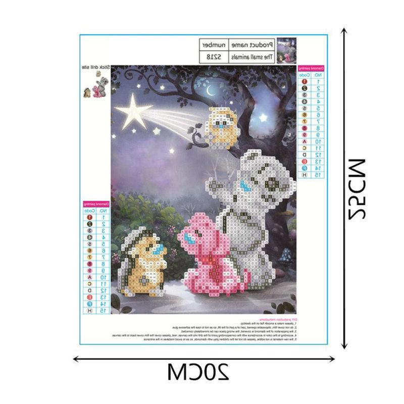 5D DIY Painting Bear Embroidery Stitch Art