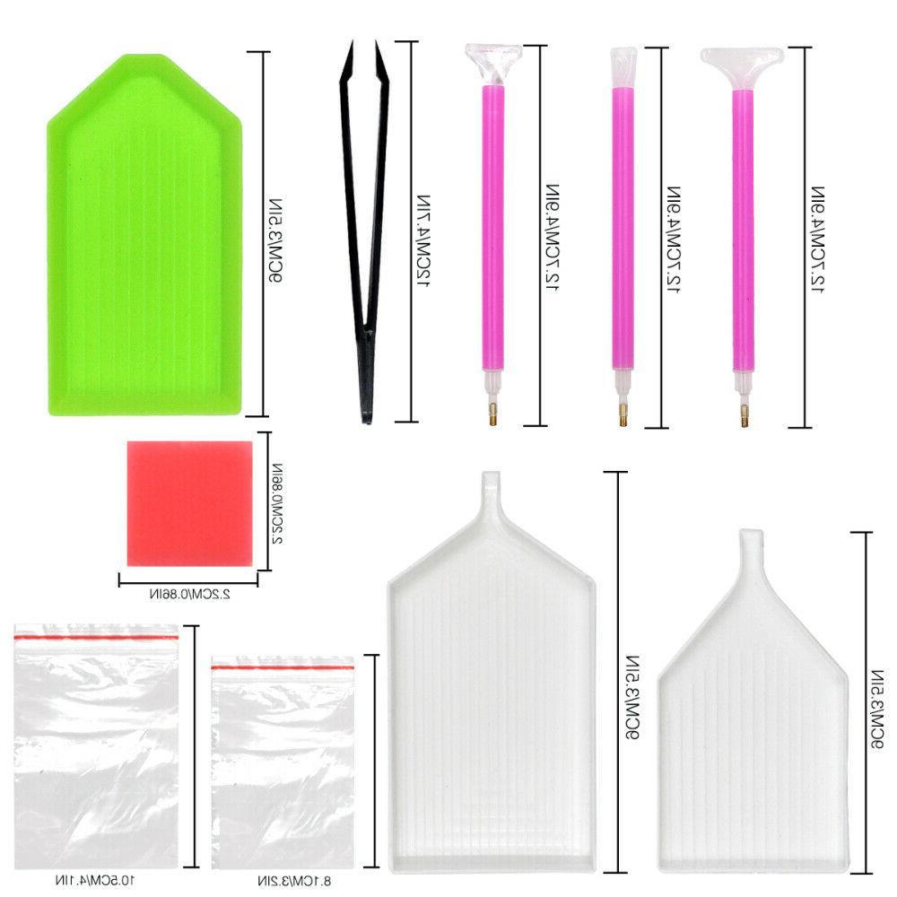 90pcs/Set Painting Pen Embroidery Craft Kits