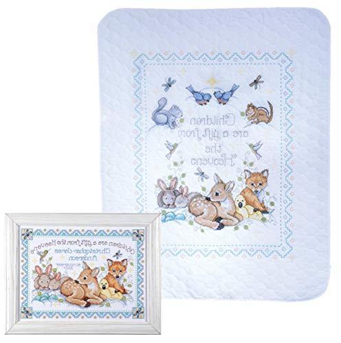 Design Works - Nursery Decor Cross Stitch - Gift from Heaven