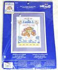 Bucilla Birth Record Bears on Toile Counted Cross Stitch Kit
