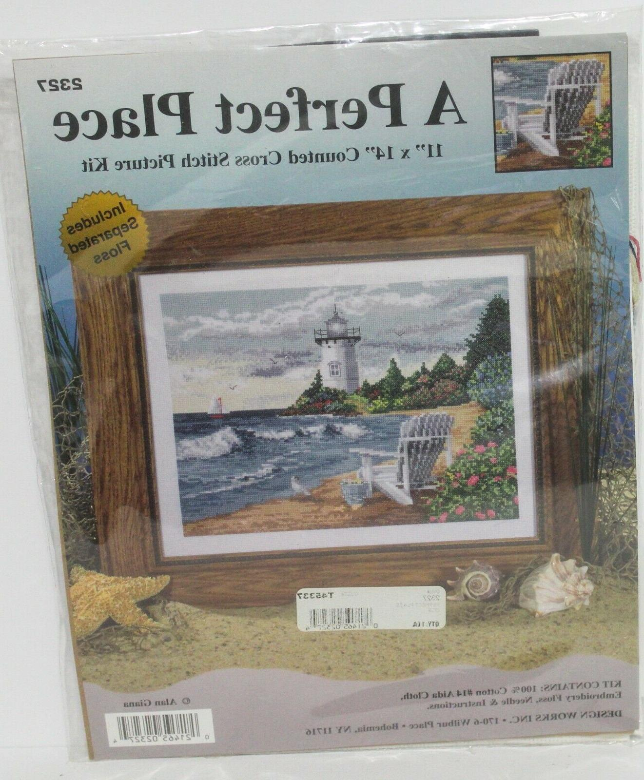 counted cross stitch kit 2327 a perfect