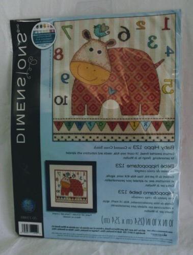 Dimensions Cross Stitch Kit, 123
