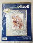 Bucilla Counted Cross Stitch Kit Tranquility Seashells Foamy