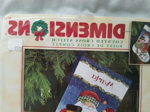 Stitch Santa Snowman Kit