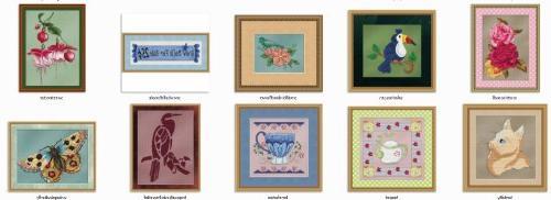 StitchX Cross Stitch Pattern Bundle 2 -