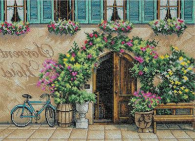 Cross Stitch Kit ~ Dimensions European Sorrento Hotel Floral