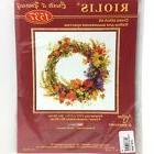 Riolis Cross Stitch Kit Wreath 1537 Alexandra Gusarova New S