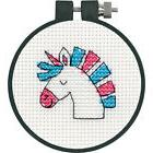 Cross Stitch 'Learn a Craft' Kit ~ Dimensions Unicorn Fun #7