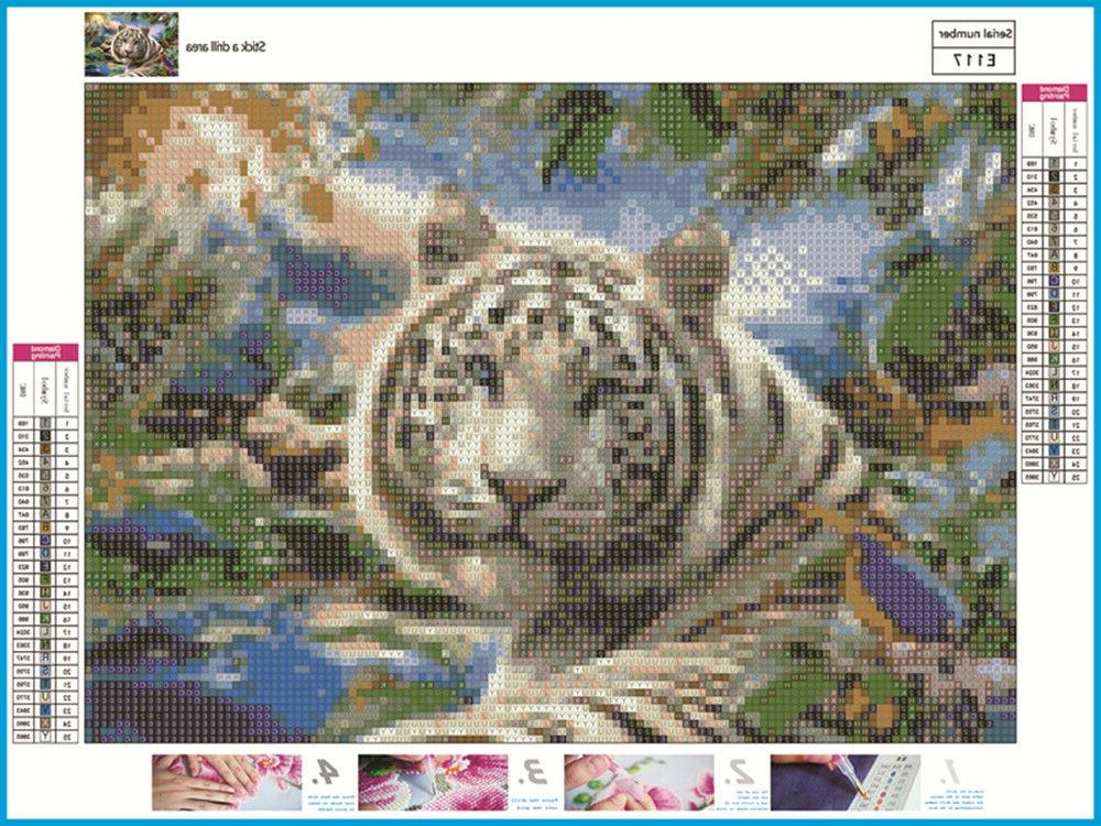 DIY Diamond Kits Full Animal Embroidery USA
