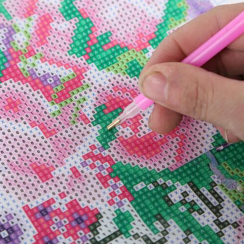 DIY Rhinestones Mosaic Decor
