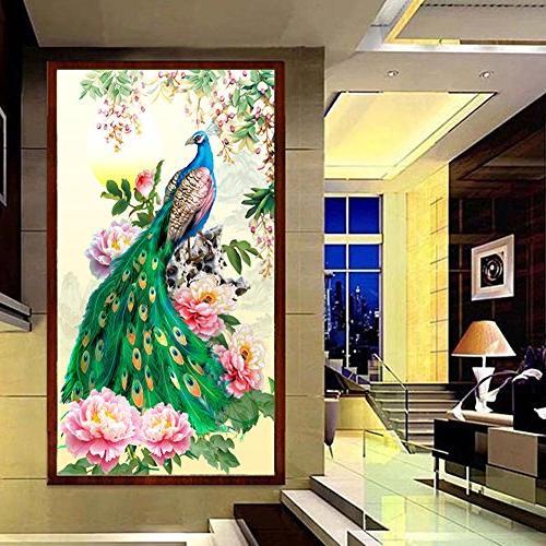 Awakingdemi Diamond Painting Peacock Home