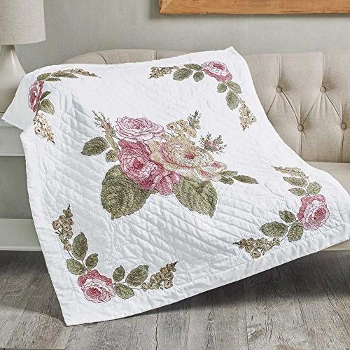 Bucilla Emma's Garden Quilt
