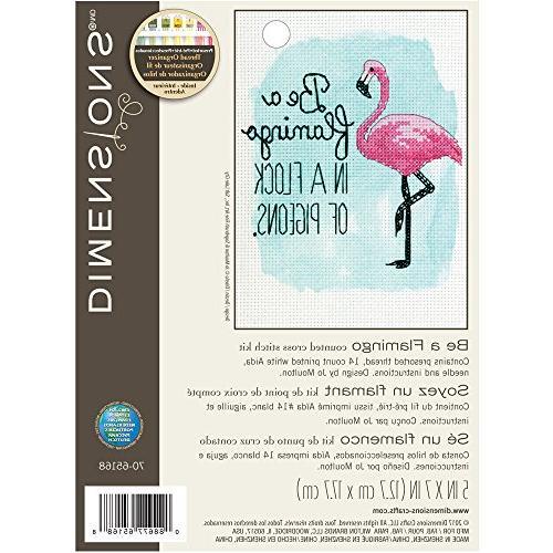 Dimensions Flamingo, Cross Kit