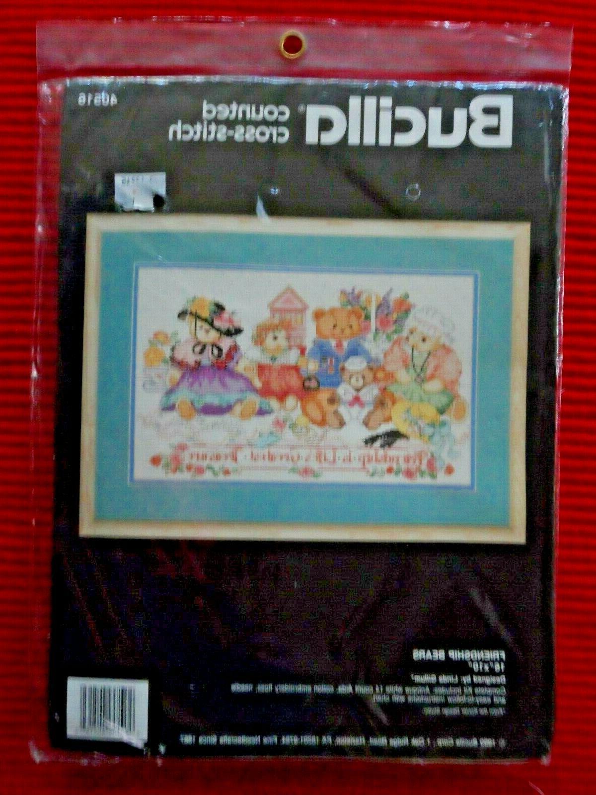 Bucilla Friendship Cross Stitch