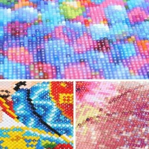 Full 5D Diamond Dandelion Stitch Kits Decors