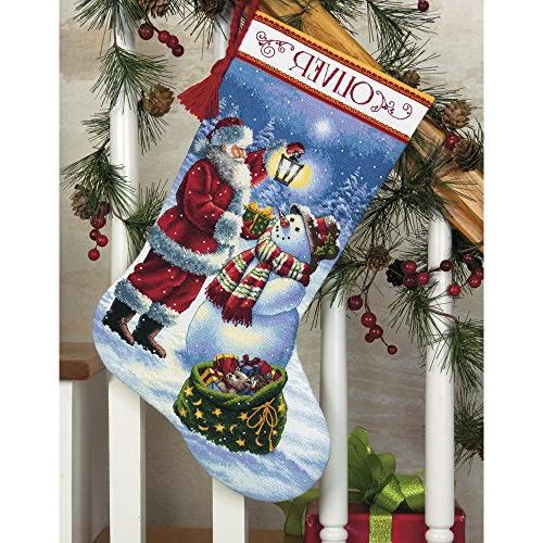 Dimensions Glow Stocking Counted Cross Stitch