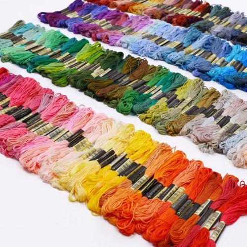 Lot Colors Cross Stitch Cotton Thread