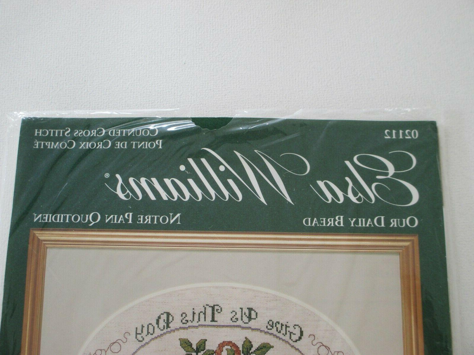 NEW Elsa Cross Stitch Kit Daily Bread Prayer 02112