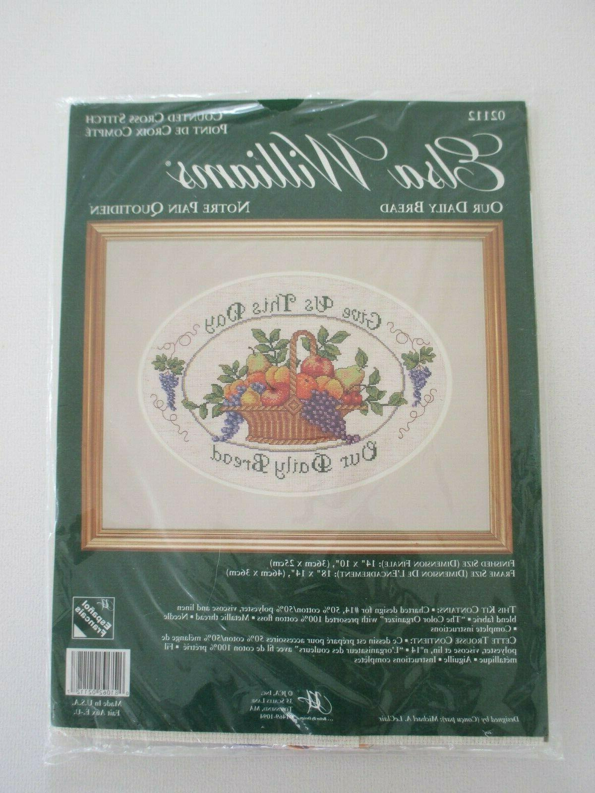 new counted cross stitch kit our daily