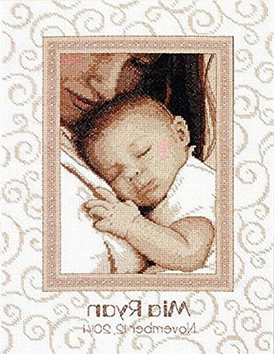 Dimensions Crafts 70-73992 Peaceful Baby Birth Record Counte