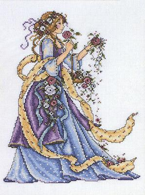 Rose Lady Cross Stitch Kit