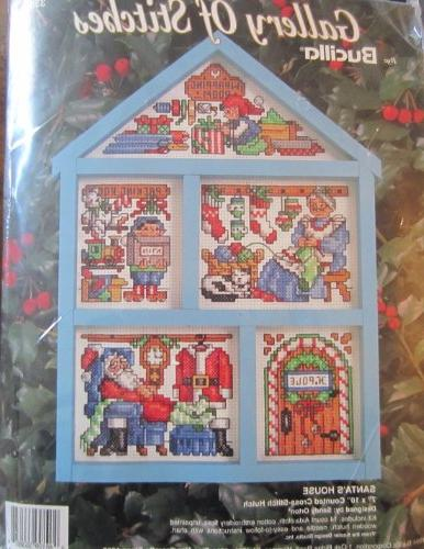 Santas House, Counted Cross Stitch Hutch Kit