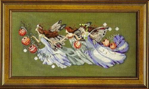 Shakespeare's Fairies by Mirabilia MD-103 cross stitch patte