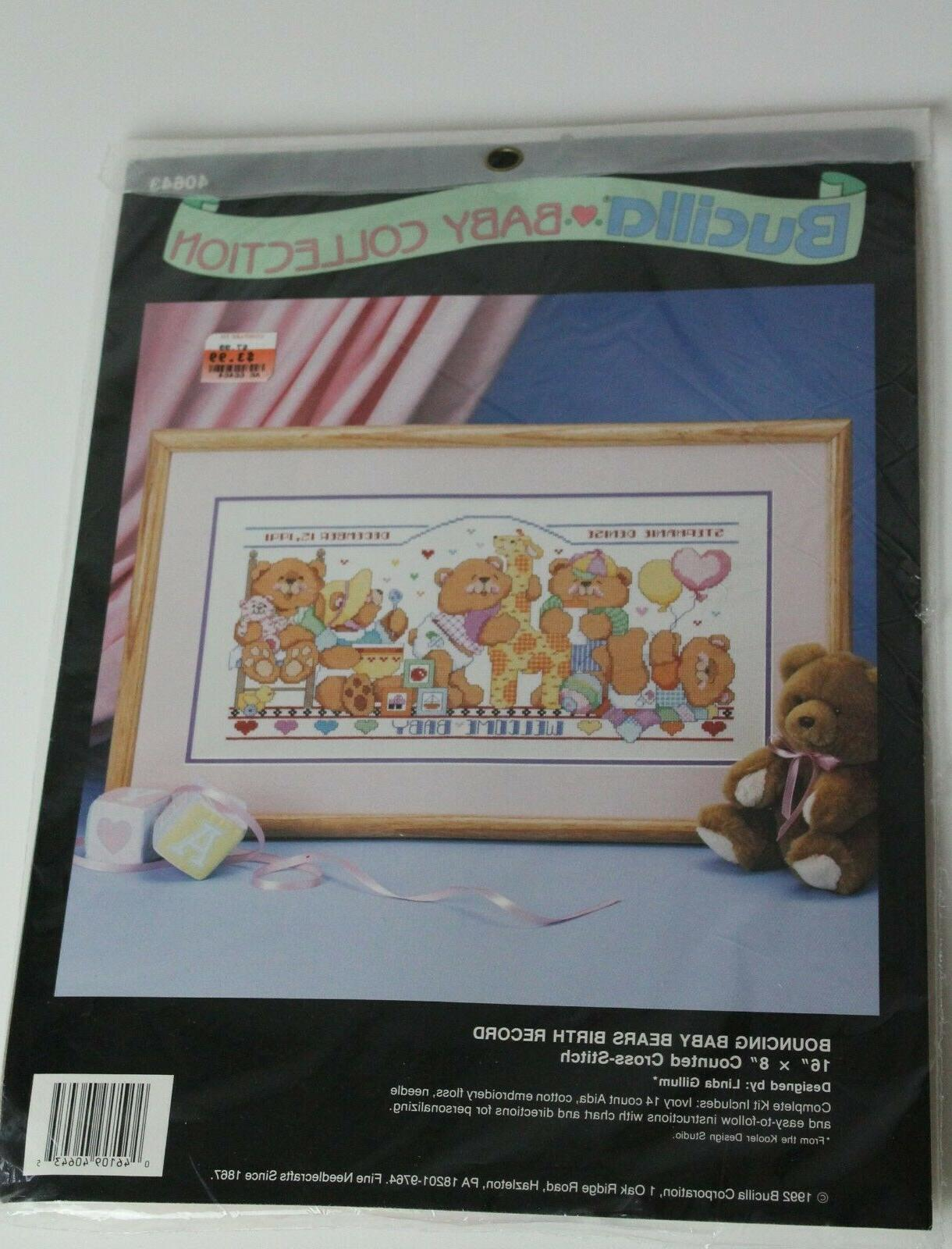 unopened counted cross stitch x stitch kit