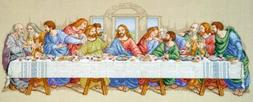 Janlynn 1-Piece The Last Supper Counted Cross Stitch Kit by