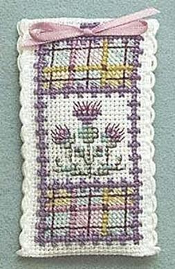 Textile Heritage Lavender Sachet Counted Cross Stitch Kit -