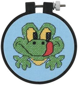 Dimensions Learn-A-Craft Friendly Frog Stamped Cross Stitch