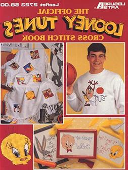 The Official Looney Tunes Cross Stitch Book Leaflet 2723