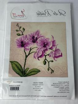 Luca-S Orchid - Cross Stitch Kit - B2227 New in Package