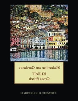 Malcesine am Gardasee: Gustav Klimt cross stitch pattern