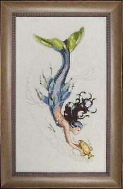 Mediterranean Mermaid - Cross Stitch Pattern