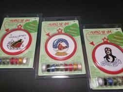 Bucilla My 1st Stitch Cross Stitch Angel Ornament Kit New Se