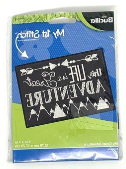 BUCILLA My First Stitch Counted Cross Stitch Kit-This Life I