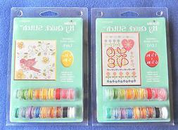 My Quick Stitch Cross Stitch Kit LOVE or Lark  Bucilla Plaid
